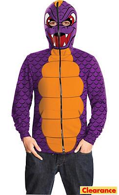 Boys Spyro Hoodie Costume - Skylanders