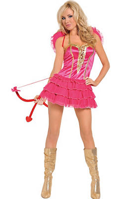 Adult Kiss Me Cupid Costume