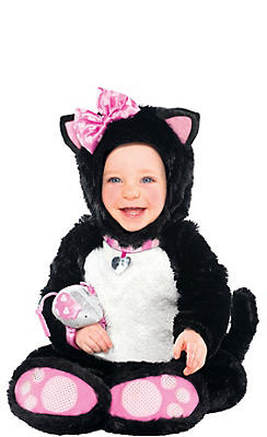 Cute Baby Halloween Costumes baby fish costume Baby Itty Bitty Kitty Costume