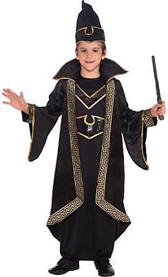 Boys Wizard Costume Deluxe