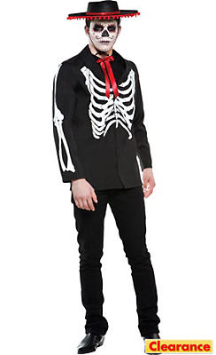 Adult Diego of the Dead Costume