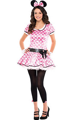Teen Girls Minnie Mouse Costume