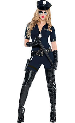 Adult Stop Traffic Sexy Cop Costume