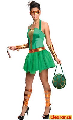 Adult Sassy Michelangelo Costume - Teenage Mutant Ninja Turtles