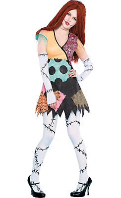 womens rag doll sally costume the nightmare before christmas - Party City Store Costumes