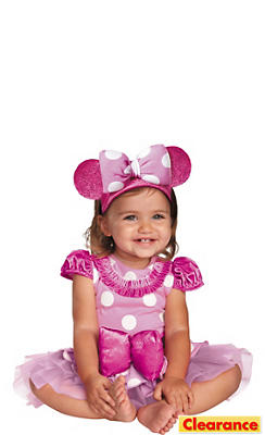 Baby Pink Minnie Mouse Costume Prestige