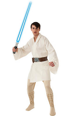Adult Luke Skywalker Costume Deluxe - Star Wars