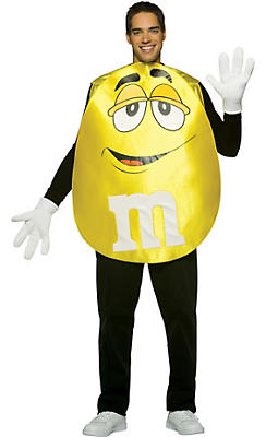 Adult Yellow M&M's Costume