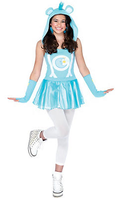 Teen Girls Bedtime Bear Costume - Care Bears