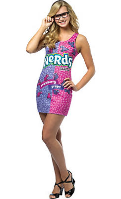 Teen Girls Nerds Costume
