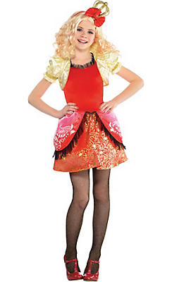 Girls Apple White Costume Supreme - Ever After High