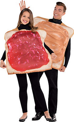 Adult Peanut Butter and Jelly Costume Classic