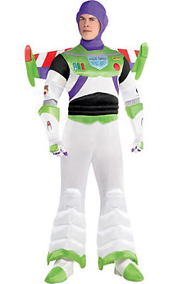 Adult Buzz Lightyear Costume Deluxe - Toy Story