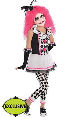 Girls Circus Sweetie Clown Costume