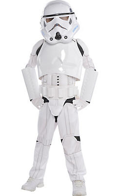 Little Boys Stormtrooper Costume Deluxe - Star Wars