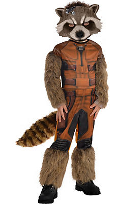 Little Boys Rocket Raccoon Costume - Guardians of the Galaxy