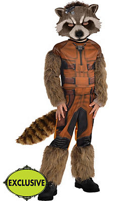 Boys Rocket Raccoon Costume - Guardians of the Galaxy
