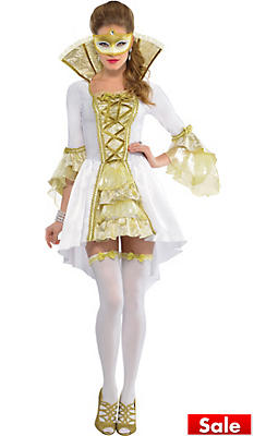 Adult Lady Venetian Costume
