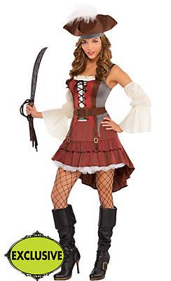 Adult Castaway Pirate Costume