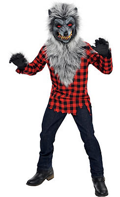 boys hungry howler werewolf costume - Party City Store Costumes