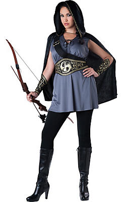Adult Huntress Costume Plus Size