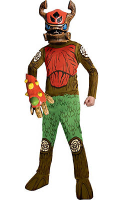 Boys Tree Rex Costume - Skylanders