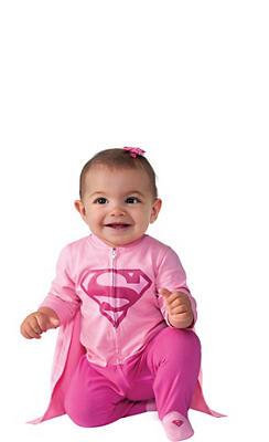 Baby Supergirl Costume - Superman
