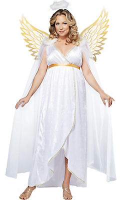 Adult Guardian Angel Costume Plus Size