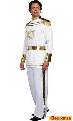 Adult Fairytale Prince Costume