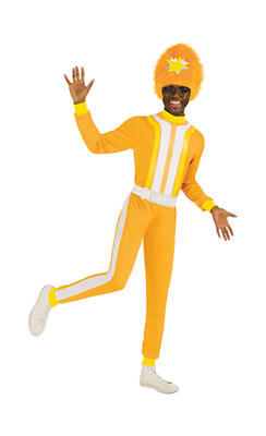 Adult DJ Lance Rock Costume Plus Size - Yo Gabba Gabba