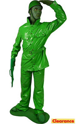Adult Army Man Costume Plus Size
