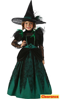 Girls Princess Wicked Witch of the West Costume - The Wizard of Oz