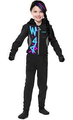 Girls Wild Ninja Costume