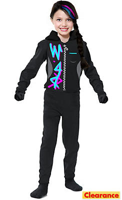 Girls Wild Ninja Costume