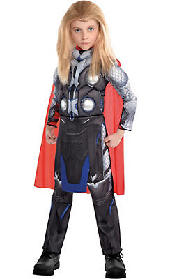 Little Boys Thor Muscle Costume - Avengers: Age of Ultron