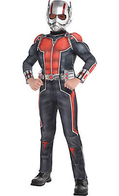 Party City Halloween Costumes For Boys boys bleeding skeleton costume Boys Ant Man Muscle Costume