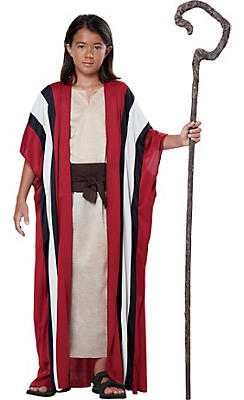 Boys Red Shepherd Costume