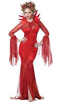 Adult Queen Devil Costume