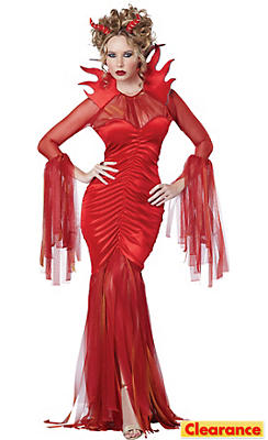 Adult Queen Devil Costume