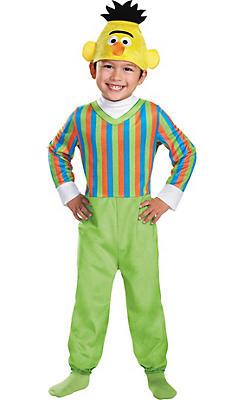 Toddler Boys Bert Costume Deluxe - Sesame Street