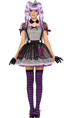 Adult Dead Eye Dollie Doll Costume