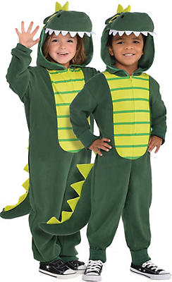Toddler Zipster Dinosaur One Piece Costume