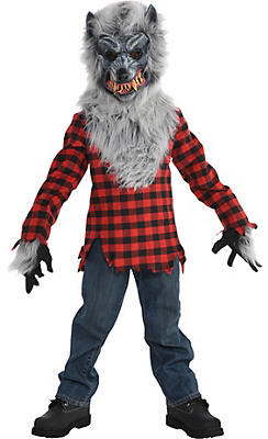 Little Boys Hungry Howler Werewolf Costume