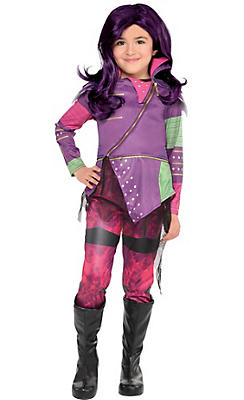 Little Girls Mal Costume - Disney Descendants