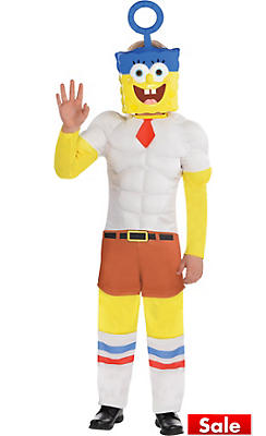 Toddler Boys SpongeBob Muscle Costume - The SpongeBob Movie
