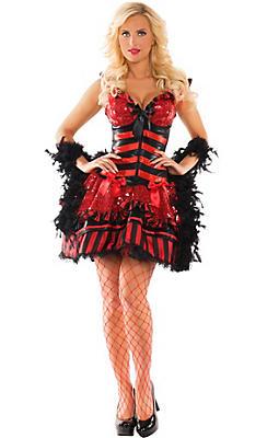 Adult Burlesque Babe Body Shaper Costume