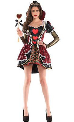Adult Heartless Queen Costume