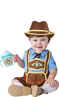 Baby Little Lederhosen Costume
