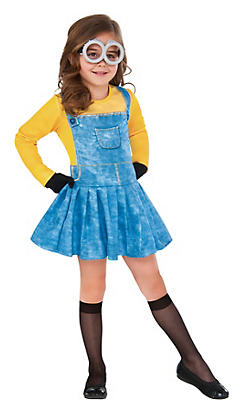 Toddler Girls Minion Costume - Minions Movie