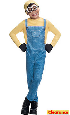 Boys Bob Minion Costume -Minions Movie